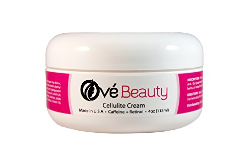Best Cellulite Cream with Caffeine and Retinol- Premium Spa Quality with Clinically Proven Ingredients-USA Made 4 Oz-Unconditional Money Back (Hill Birthday Cookie)