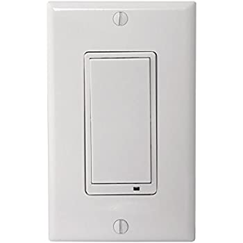 Nutone Nwd500z Smart Z Wave Enabled Wall Dimmer Switch