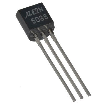 Major Brands 2N5088 Transistor, 2N5088 - BJT NPN, Silicon Amplifier, 30V, 0.05A (Pack of 20)