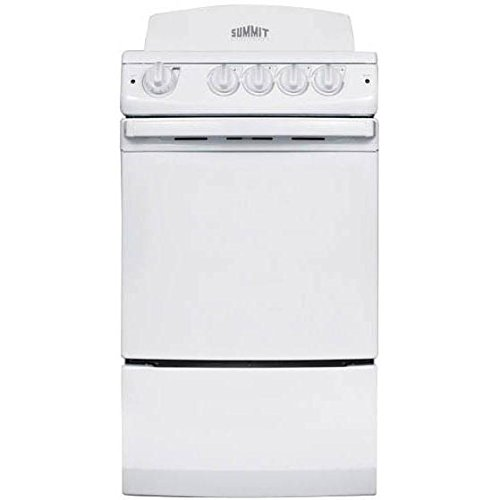 2.41 Cu. Ft. Electric Range in White Summit Appliance RE201W