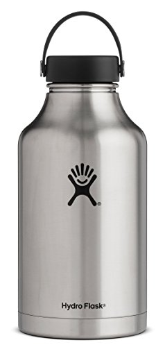 64 oz stainless steel flask - 1