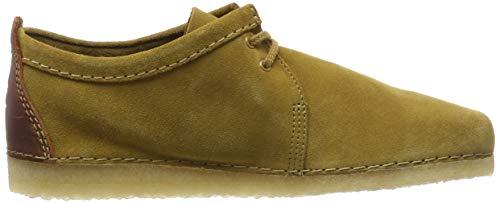 Amarillo De Para Zapatos oak Suede Suede Hombre Cordones Oak Ashton Derby Clarks BEf0qxXwW