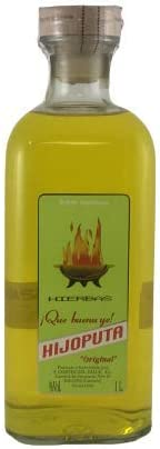 ¡Que buenu ye! HIJOPUTA (Licor de Orujo Hierbas) 1 Litro
