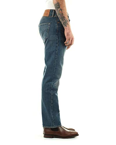 Levis 501 Brand Hook Customized 1307 Uomo 00501 Jeans amp; Tapered rwrqn5UC