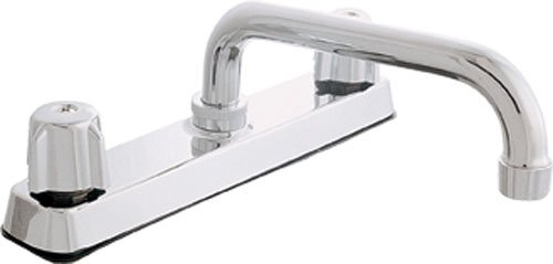 Collection Deck Mount Kitchen Faucet - EZ-Flo 10181LF Deck Mount Kitchen Faucet