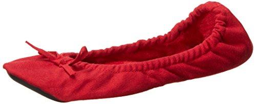 DAWGS Women's Fleece Ballet, Red, 10 M - Dawgs Womens Fleece