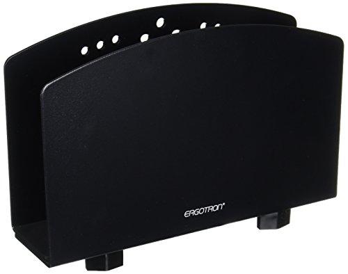 (Ergotron Small CPU Holder Vertical Black Up to 50Lbs)