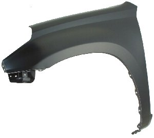Partslink Number TO1241190 Unknown TO1241190V OE Replacement Toyota RAV4 Front Passenger Side Fender Assembly