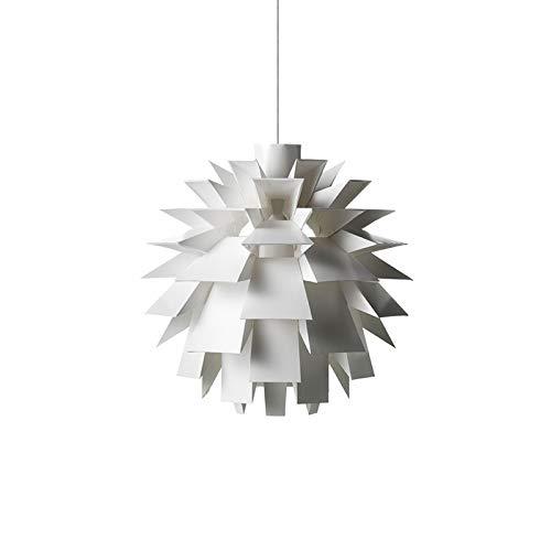 AXIU Postmodern Style Pendant Light-White Pine Cone Chandelier - Living Room Dining Room Bedroom Creative Pendant Lamp Chandelier 2 Light Pinecone Pendant