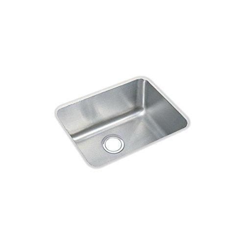 Elkay ELUH1814 Lustertone Classic Single Bowl Undermount Stainless Steel Sink ()