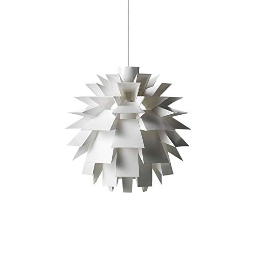 MWG Innenbeleuchtung Postmoderne Stil Pendelleuchte-Weiß Pine Cone Kronleuchter - Wohnzimmer Esszimmer Schlafzimmer Kreative Pendelleuchte