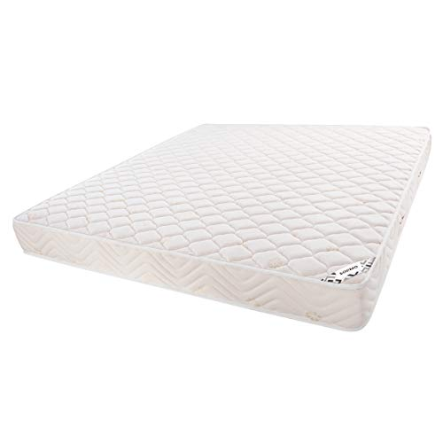 Amazon Brand   Solimo 6 inch Soft Queen Size Pocket Spring Mattress  72x60x6 Inches