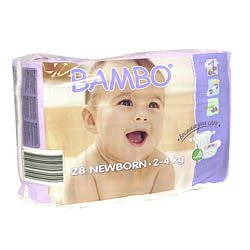 Bambo Nature  Baby Diapers Pack - Size 1 28ct.