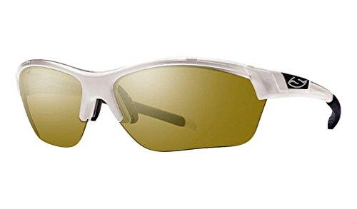 Smith Optics Approach Max Sunglass with Bronze Mirror Carbonic Lenses, - Approach Sunglasses Smith
