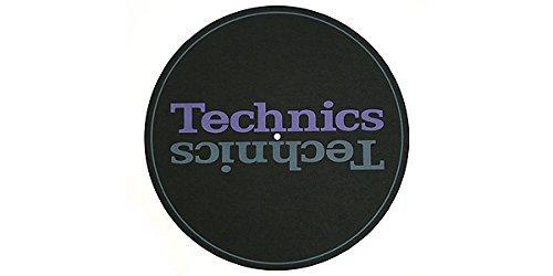 Disco-Tappetino-di-Gomma-Technics-RGS0005Z-per-Giradischi-Consolle-Vinile-DJ-Panasonic-Technics-SL1200-DJ
