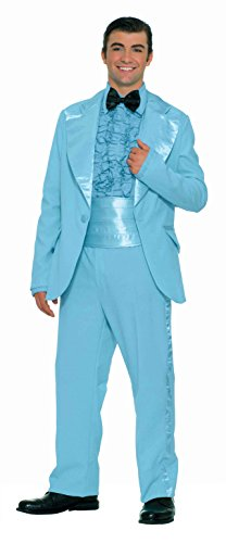 Halloween Costumes With A Blue Dress (Forum Novelties Men's Fabulous 50's Prom King Costume, Blue, Standard)