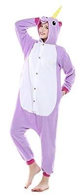 USTOP Unicorn Adult Animal Kigurumi Cosplay Costume Pajamas Onesies