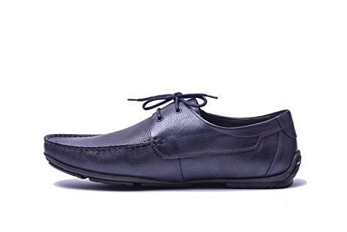 Mocasines Verano VG4924 Marino Azul Zapatos Vogar Hombre Cuero pqn15