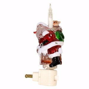 Santa Chimney Bubble Light Night Light