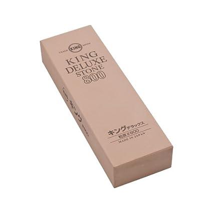 Amazon.com: King grano mediano) – Piedra de afilar # (grano ...