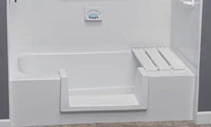 Step Through Tub To Shower Conversion Kit Large Amazon Com