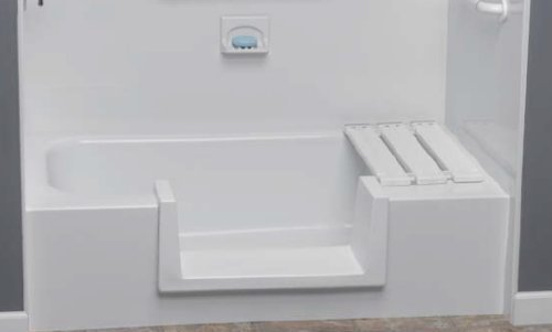Step-Through Tub-to-Shower Conversion Kit - Medium