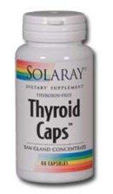 Solaray - Caps thyroïde, 60 capsules