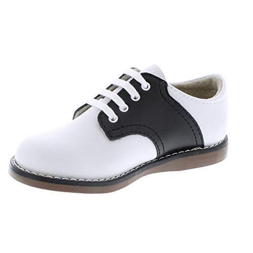 FootMates Unisex Cheer 3 (Infant/Toddler/Little Kid) White/Black Oxford 7.5 Toddler M/W by FOOTMATES (Image #5)