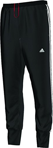 Slim Stripe Pant (adidas Men's Slim 3-Stripe Sweatpants, Black/White, X-Large)