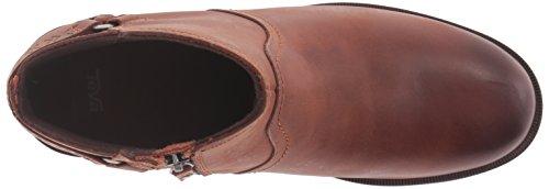 Teva Womens W Foxy Leather Boot Cognac