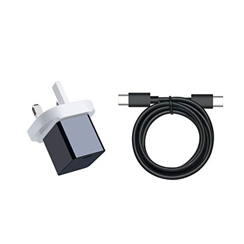 15 W Type-C Wall Charger with USB-C Cable for Fire HD 10 and All-New Fire HD 8 Tablet
