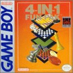 4 In 1 Funpak - Checkers, Backgammon, Chess, Reversi (aka Othello) Fun Pak