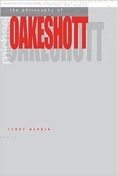 Book The Philosophy of Michael Oakeshott