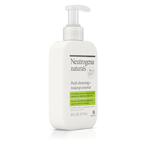 Neutrogena Naturals Fresh Cleansing + Makeup Remover, 6 Ounce (Pack of 2)