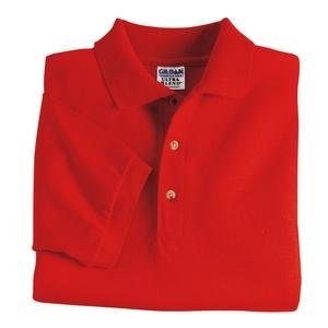 Gildan Mens DryBlend 6-Ounce Jersey Knit Sport Shirt, XL, Red