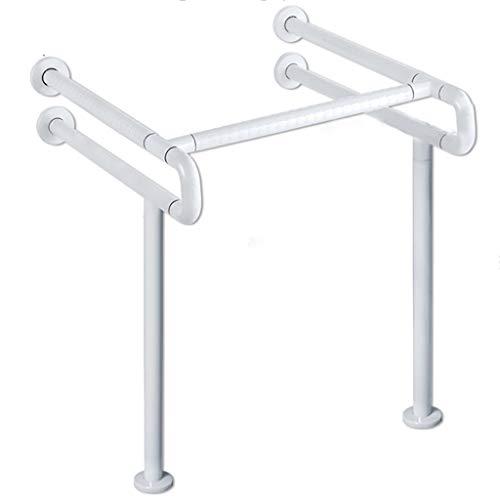 Grab Bar Auxiliary Function Safety Armrest Sink Washbasin Anti-Skid Handle Pedestal Basin Handrail Basin Antibacterial Nylon Anti-Fall Elderly Pregnant ()
