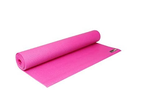 Sticky Yoga Mat Pink 4mm by YogaStudio: Amazon.es: Deportes ...