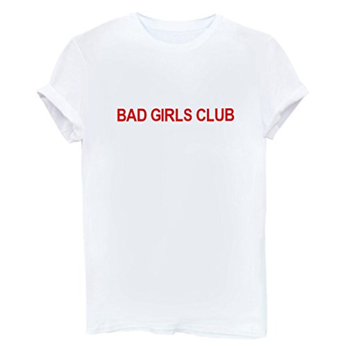 Maniche Maglietta Cotone Donna Shirt Bianco Tops Corte Camicetta Casual Yeesea T 5wX6TqnC5