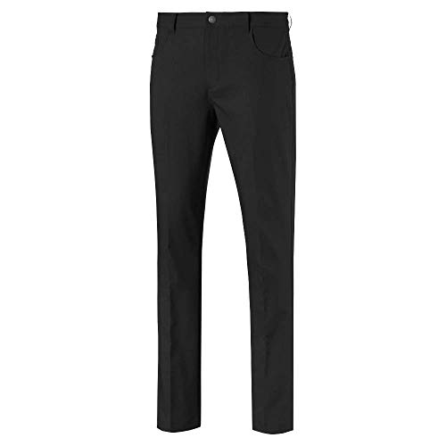 Puma Golf Men's 2019 Jackpot 5 Pocket Pant, Puma Black, 40 x 32