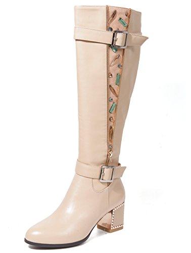Nine SevenKnee High Boots - Botas mujer Beige