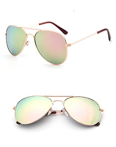 Hot Sale Children Goggle Girls Alloy Sunglasses Hot Fashion Boys Girls Baby Child Classic Retro Cute Sun Glasses - Frames For Shaped Face Heart