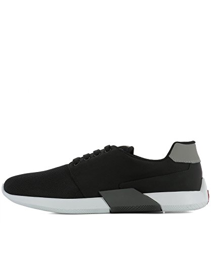Prada Mænd 4e31673h8if0msk Sorte Klud Sneakers dMo5M6RL