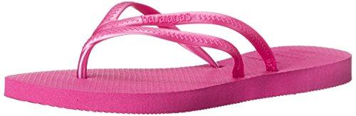 Havaianas Women's Tria Flip Flop, Raspberry Rose, 39 BR/9/10 M - Havaianas Pink