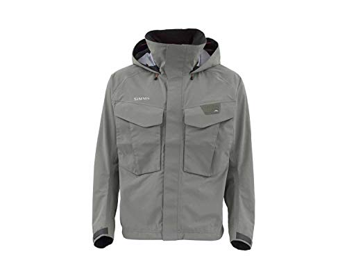 Simms Freestone Wading Jacket for Men, Lightweight, Waterproof, Fishing Rain Jacket ()