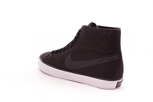 Nike Herren Primo Court Mid Leather Turnschuhe Schwarz / Grau / Weiß (Schwarz / Classic Charcl-weiß)