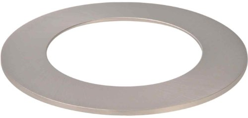 - HALO Recessed TRM400SN 4-Inch LED Accessory Slim Ring, Satin Nickel