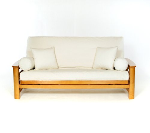 Lifestyle Covers Natural Full Size Futon Cover (Futon Bright Cover)