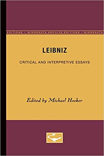 amazoncom leibniz critical and interpretive essays   leibniz critical and interpretive essays st edition