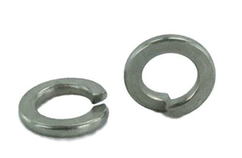 Stainless Split Lock Washer - Stainless #6 Split Lock Washer, Stainless Steel 18-8 (100 pcs, 6 Lock Washer)