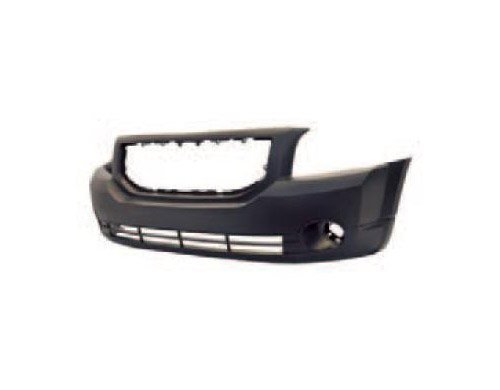 Aftermarket DO12213 - FRONT BUMPER TO BE PAINTED WITH FOG LIGHT HOLES